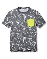 Mossimo Boy's Marble Tee - Quartz Gray - Size: Large