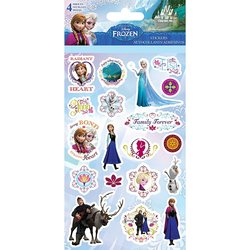 Sandy Lion ST2545 Disney Sticker - Frozen 4 Pack