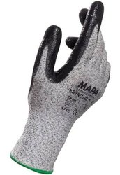 MAPA Krynit 563 Nitrile Palm Coated Glove 1 Pair - Grey - Size: 10