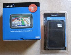 """Garmin Nuvi 850 4.3"""" Portable GPS - Black (010-00577-23)"""