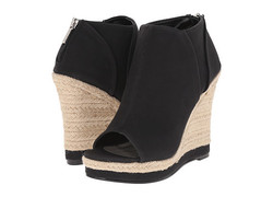 Michael Antonio Women's Wedge Shoes - Black - Size: 6.5