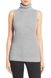Michael Kors Women's Shaker Knit Turtleneck Sweater - Grey - Size: L