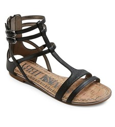 Women's Sam & Libby Hadlee Gladiator Sandals - Black - Size: 9.5