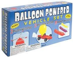 Toysmith Balloon Powered Vehicle Set - Multi