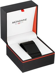 Mondaine Classic Gent's Watch - Black/White - Size: 36mm