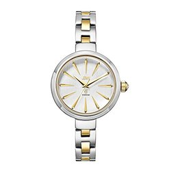 JBW Women's Watch: J6326C Two Tone Band-Silver Dial