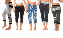 Coco Limon Women's Mystery Deal Joggers (5-Pack) - Multi - Size: Large