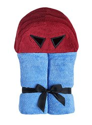 Yikes Twins Child Hooded Towel- Superhero