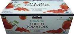 Kirkland Signature Organic Diced Tomatoes 12 x, 7.25 pound, 8