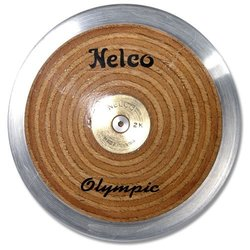 BSN Sports Olympic Wood Discus, 2kg