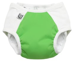 Super Undies Snap-On Training Pants - Fearsome Frog Green - Size: XL