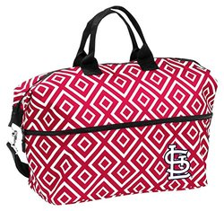 MLB Expandable Double Diamond Tote - Cardinals - Size: Medium