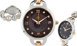Louis Richard Felina Women's Watch with Swarovski Elements - Silver