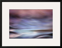 "Art Sea by Ursula Abresch Framed Art Print - Purple - Size: 26"" x 34"""