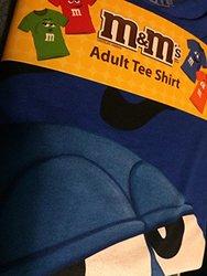 M&m Jumbo Fade Adult T-shirt: Blue/large
