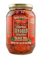 Bella Sun Luci Sun Dried Tomatoes Halves in Olive Oil - 35oz