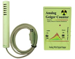 Geiger Counter Nuclear Radiation Monitor with Wand & Digital Output