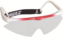 Bangerz Eye Protecti on for Cycling & Racquet Sports Goggles - Red