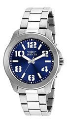 Invicta Specialty Watch: 21439SYB Silver Band-Blue Dial