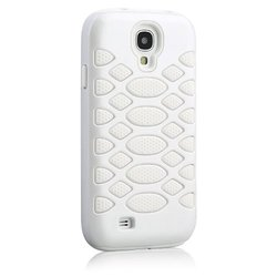 HyperGear Dual-Layered Protective Cover for Samsung Galaxy S4 - White