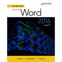 Paradigon Education Solutions Microsoft Word 2016 Level 1(MLB260057)