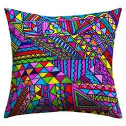 DENY Designs Lisa Argyropoulos Wild One 1 Outdoor Throw Pillow, 18 x 18