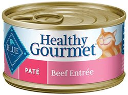 Blue Hg Cat Beef Pate 24/5.5oz