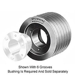 Browning 3TB160 Split Taper Sheave, Cast Iron, 3 Groove, A or B Belt, Uses Q1 Bushing