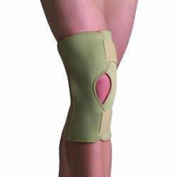 Thermoskin Open Knee Wrap Stabilizer Knee Brace Beige Large 5x, 5x