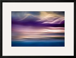 "Art.com I Want to See Mountains by Ursula Abresch Framed Art Print, 26 x 34"", Purple"