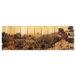 Gizaun Art Rocky Ravine Yard Art, 60 by 20-Inch