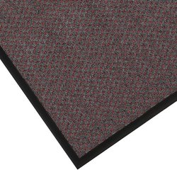 """Notrax 145 Preference Entrance Mat, for Inside Foyer Area and Main Entranceways, 3' Width x 4' Length x 5/16"""" Thickness, Red/Black"""