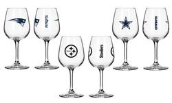 Boelter NFL Cleveland Browns Wine Glasses Set of 2 - Browns