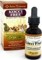 Kocci Free - All-Natural Anti-Parasitic for Pets (4 oz)