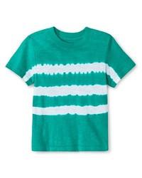 Cherokee Boy's Printed T-Shirt - Tropic Green - Size: 2T