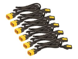 APC Power Cord Kit 6 Pk Locking - Size: 1.8Mtr