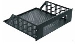 2 Space Custom Rack Shelf Blk Brushed