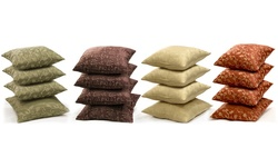 Decorative Versailles Throw Pillows: Oliver Rouge (4-pack)