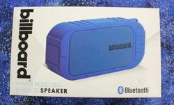 Billboard Water Resistant Bluetooth Wireless Speaker - Blue (BB733)