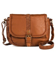 Mossimo Women's Faux Leather Mini Crossbody Handbag - Brown