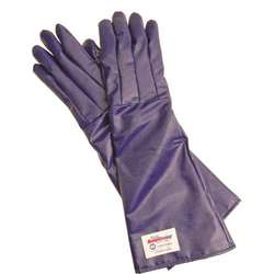 "Tucker 24"" Burn Guard Safety Gloves with QuicKlean Finish - Blue"