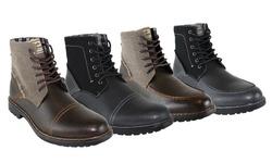Unionbay Jackson High Top Boot: Brown/8.5