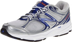 New Balance Women's Running Shoes - White/Blue - Size: 6 B(M) US