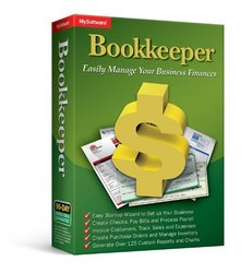 """Bookkeeper """"Easily Manage Your Business"""" Finances Software Windows 7/XP/8"""