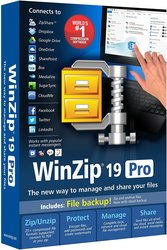 Corel WinZip 19 Pro Software PC Disc for Windows