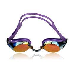 Water Gear Junior fit Finalist Anti-fog Swim Goggles - Metallic Purple