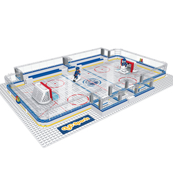 OYO Sports NHL Edmonton Oilers Full Rink Set - Black - Small