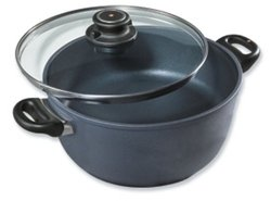 "Swiss Diamond 8"" 2.3 qt Nonstick Casserole - Black"