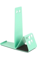 Umbra Decorative Bookend with Pencil Holder Slots - Green