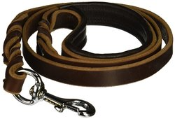 "SexyBeast 6' Long and 3/4"" Wide Large Schutzhund Dog Leash - Tan"